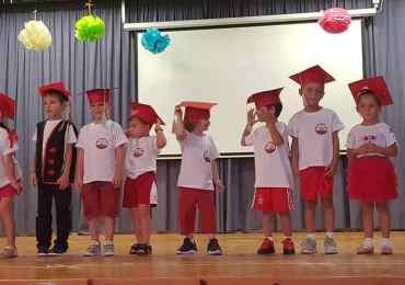 Taniec przedszkolaków z Paralimni