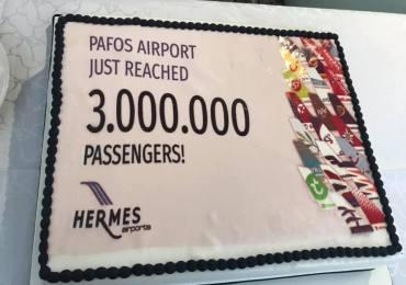 Polka 3 milionową pasażerką w Pafos (film)