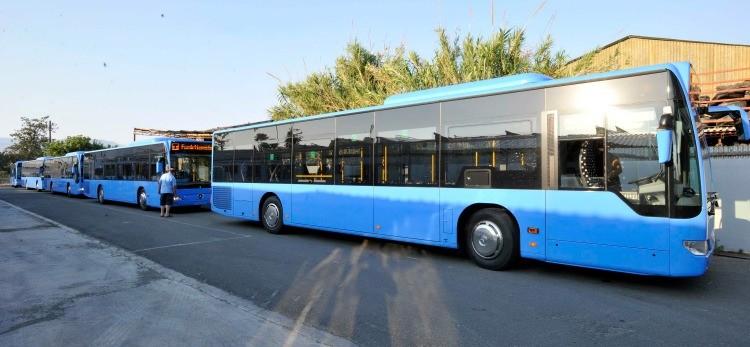 Zamknięta Konstantinou Kalogera - zmiana tras autobusów