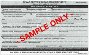 texas drivers license requirements 16 year olds