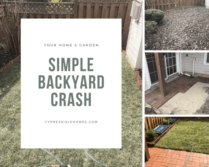 Simple Backyard Crash - Ashburn Virginia
