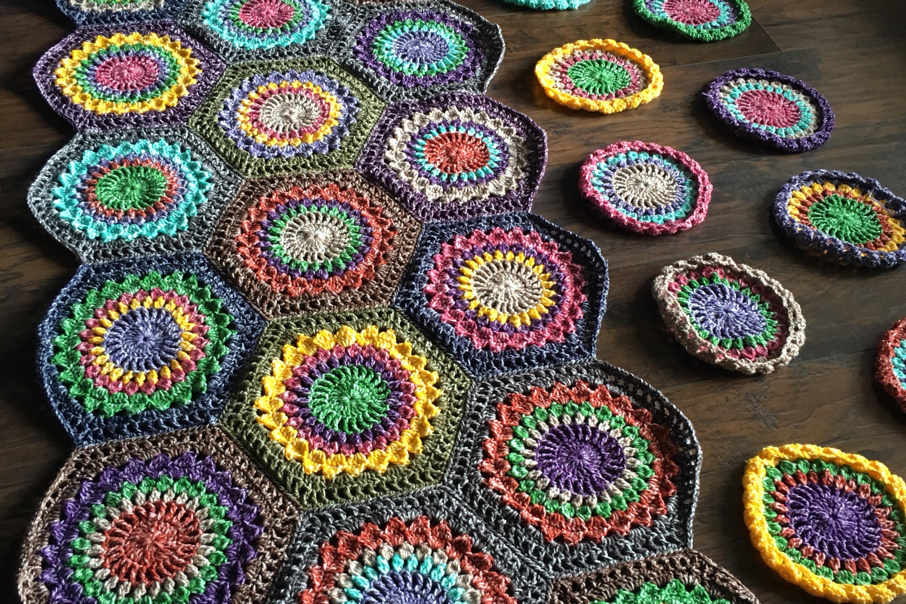 Hexagon Burst: Free Pattern
