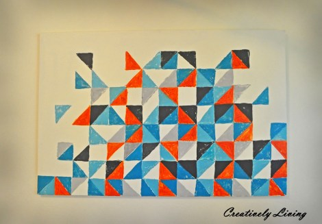 Triangle Geometric Wall Art