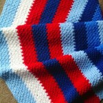 Bold Stripe Blanket: Free Pattern