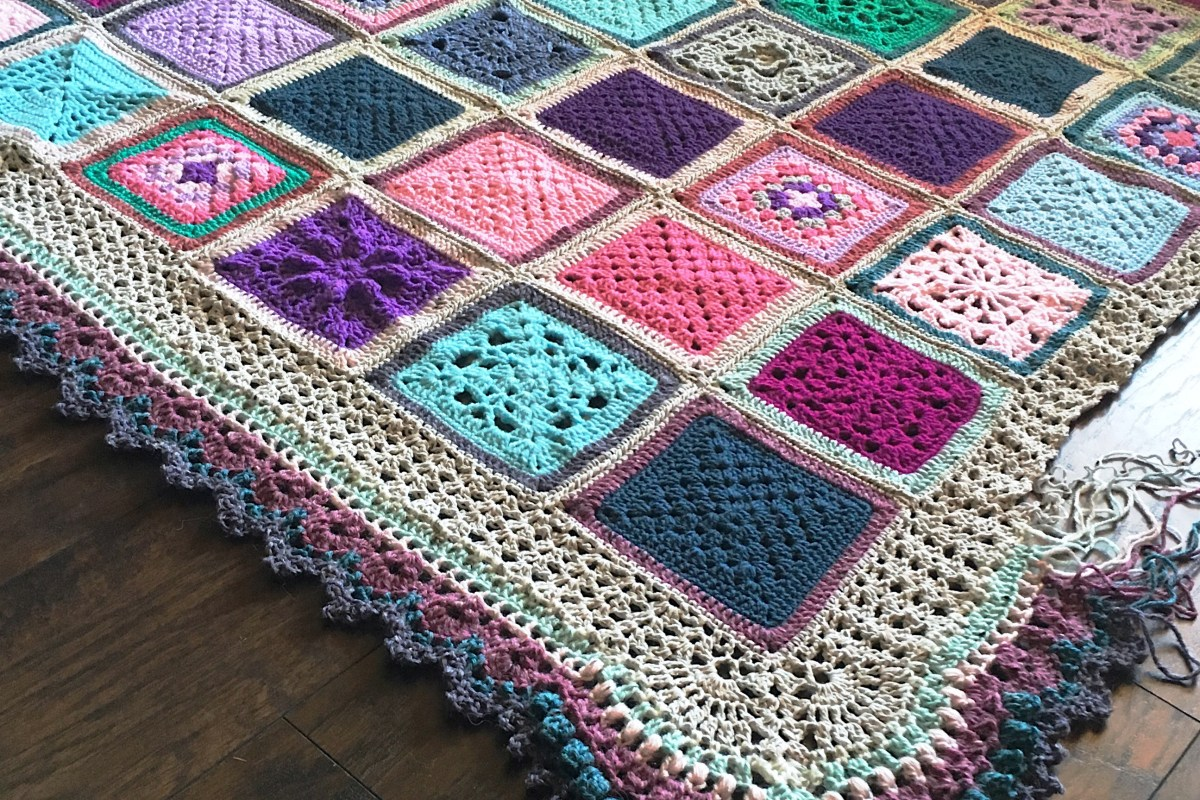 VVCAL Vibrant Vintage Crochet Blanket – Main Info Page