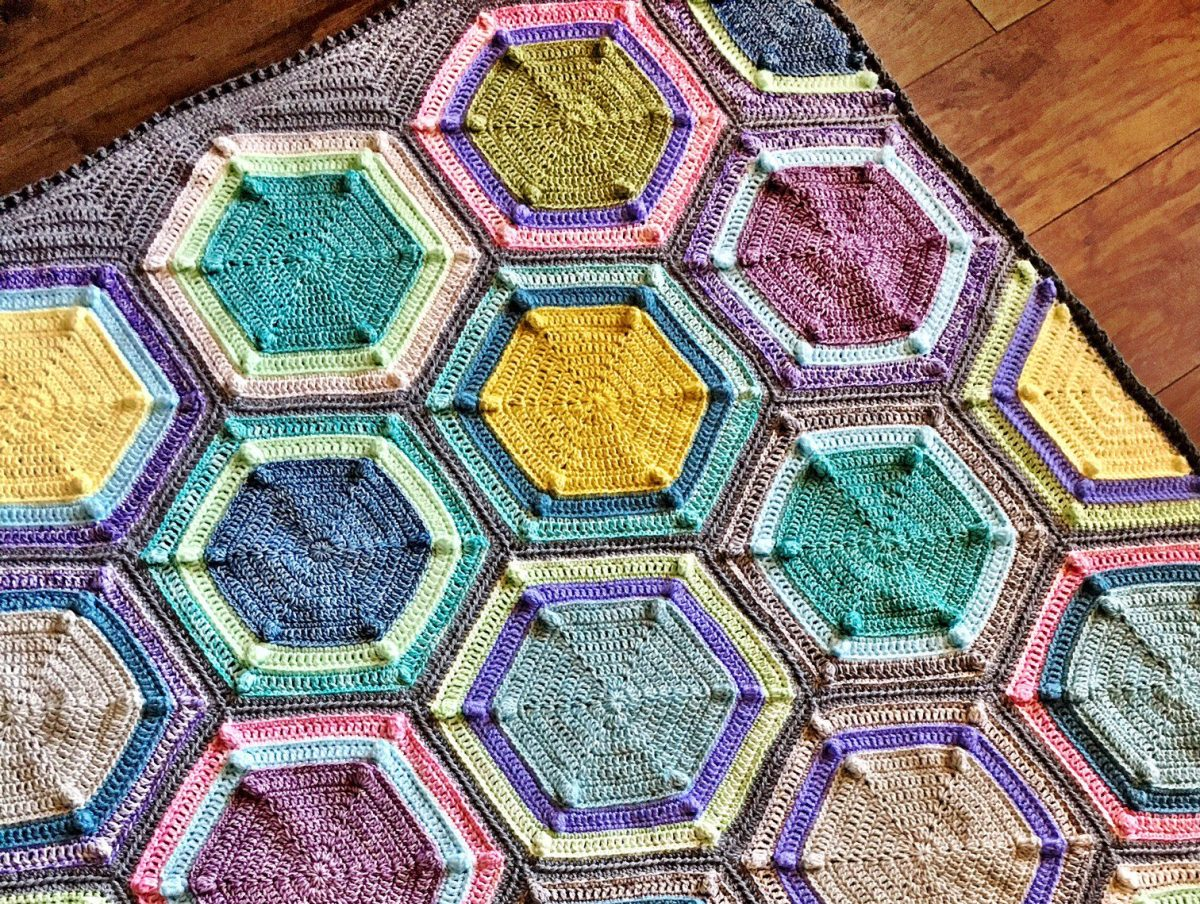 Moon Landing Blanket Free Pattern