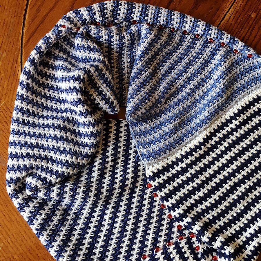 Rebecca Möbius Scarf Free Pattern - cypress|textiles