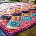 Hearthside Blanket Free Pattern