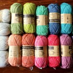 Yarn Arrives for a Fresh Wildflower