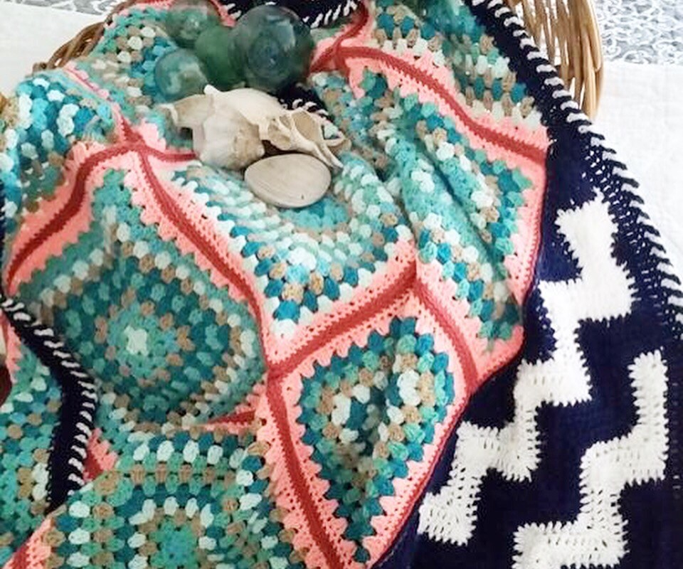 Seaglass Blanket