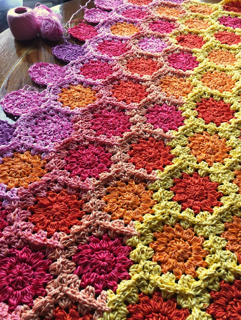 Cozy Flowers Deken Cypresstextilesnet Een Mooi Gebaar