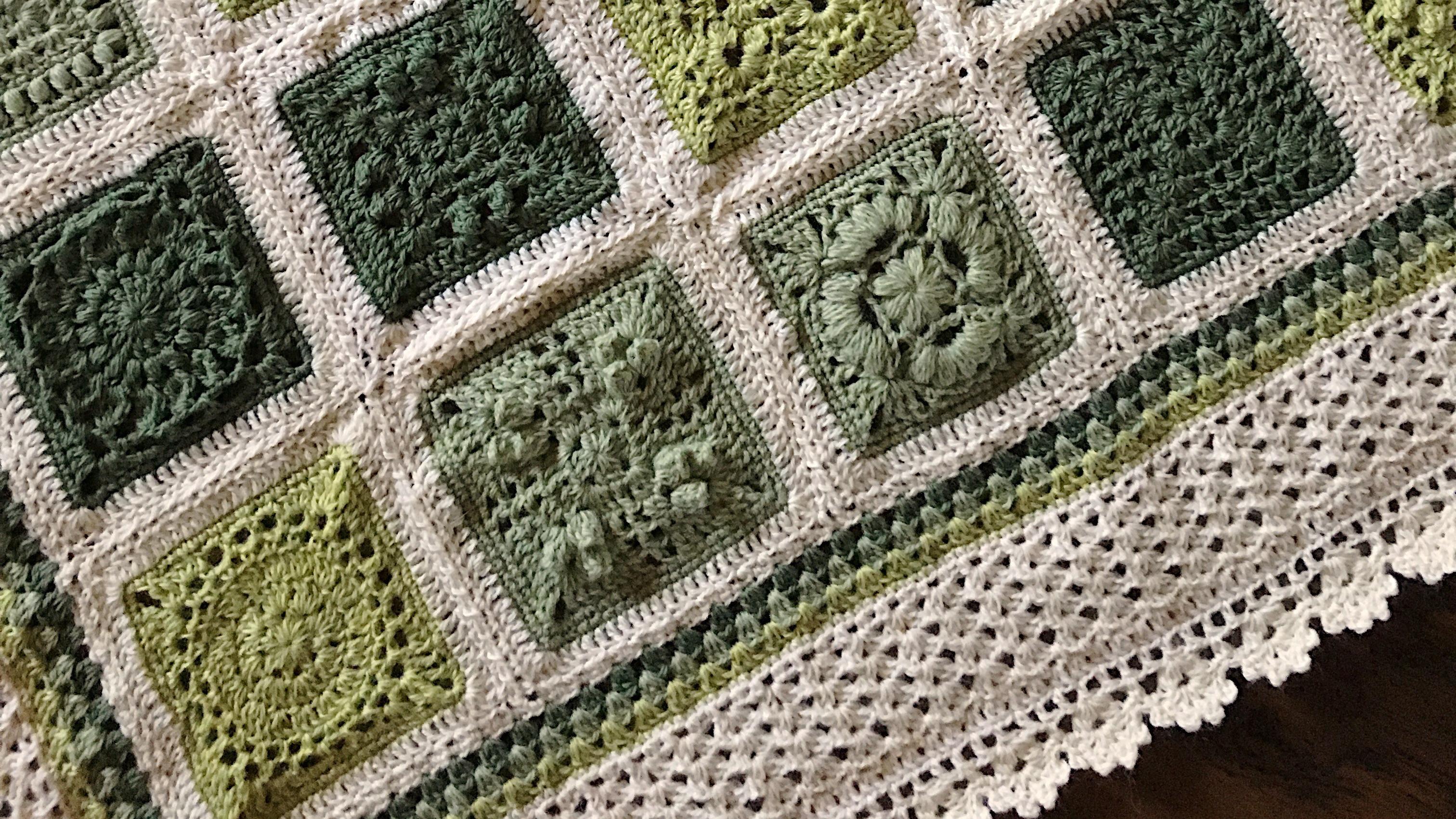 Granny Square Blanket: 3 Ways to Solve Gauge Problems