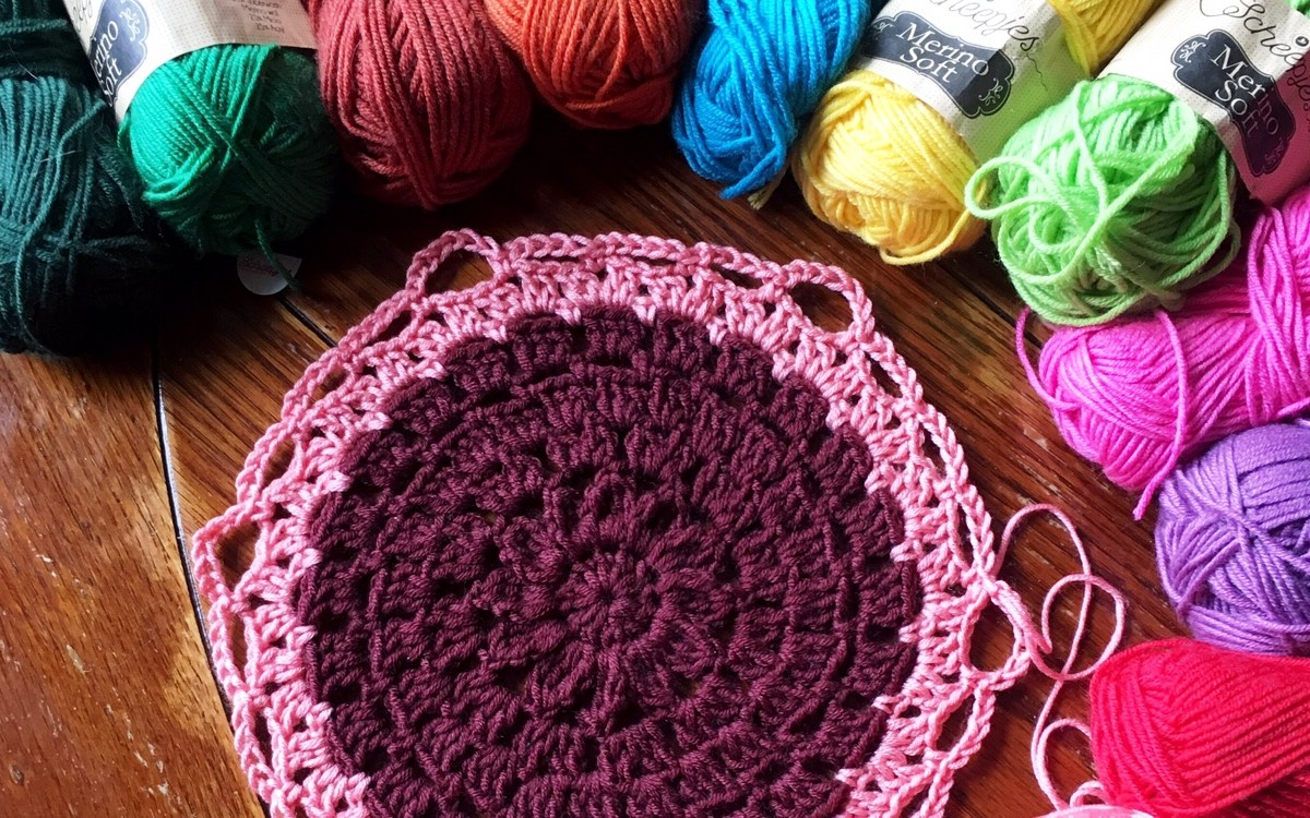 Relaxghans Ebook: Six free stash-buster crochet blanket patterns designed with peace in mind