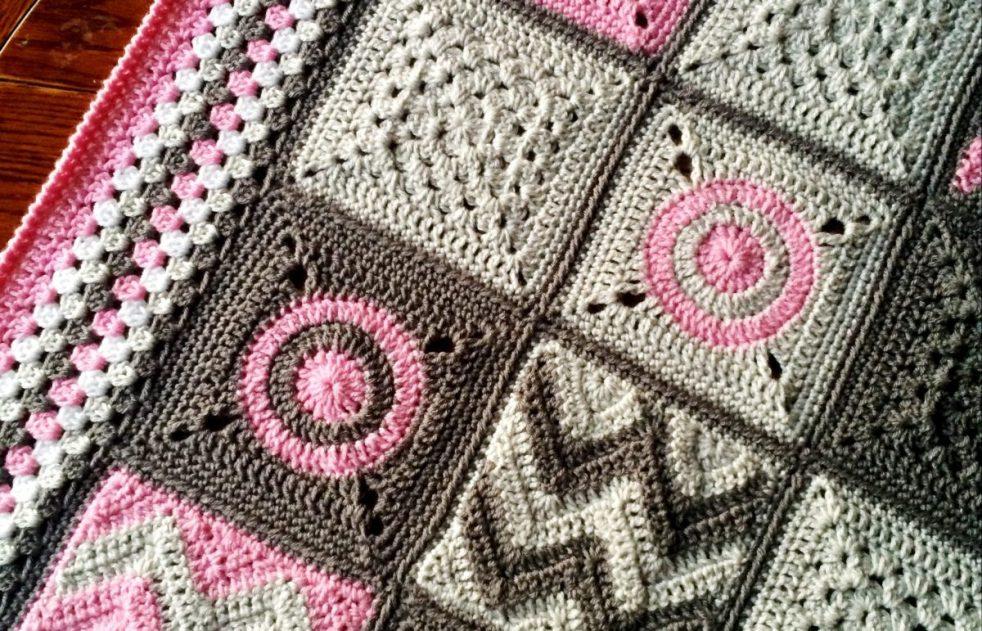 c5d7d37df Crochet Baby Blanket Pattern: Modern Patchwork - cypress|textiles