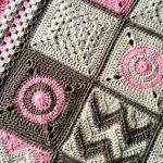 Crochet Baby Blanket Pattern: Modern Patchwork
