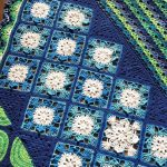 Scheepjes YARN, Issue 5: WOMAN – Lotus Leaf Blanket