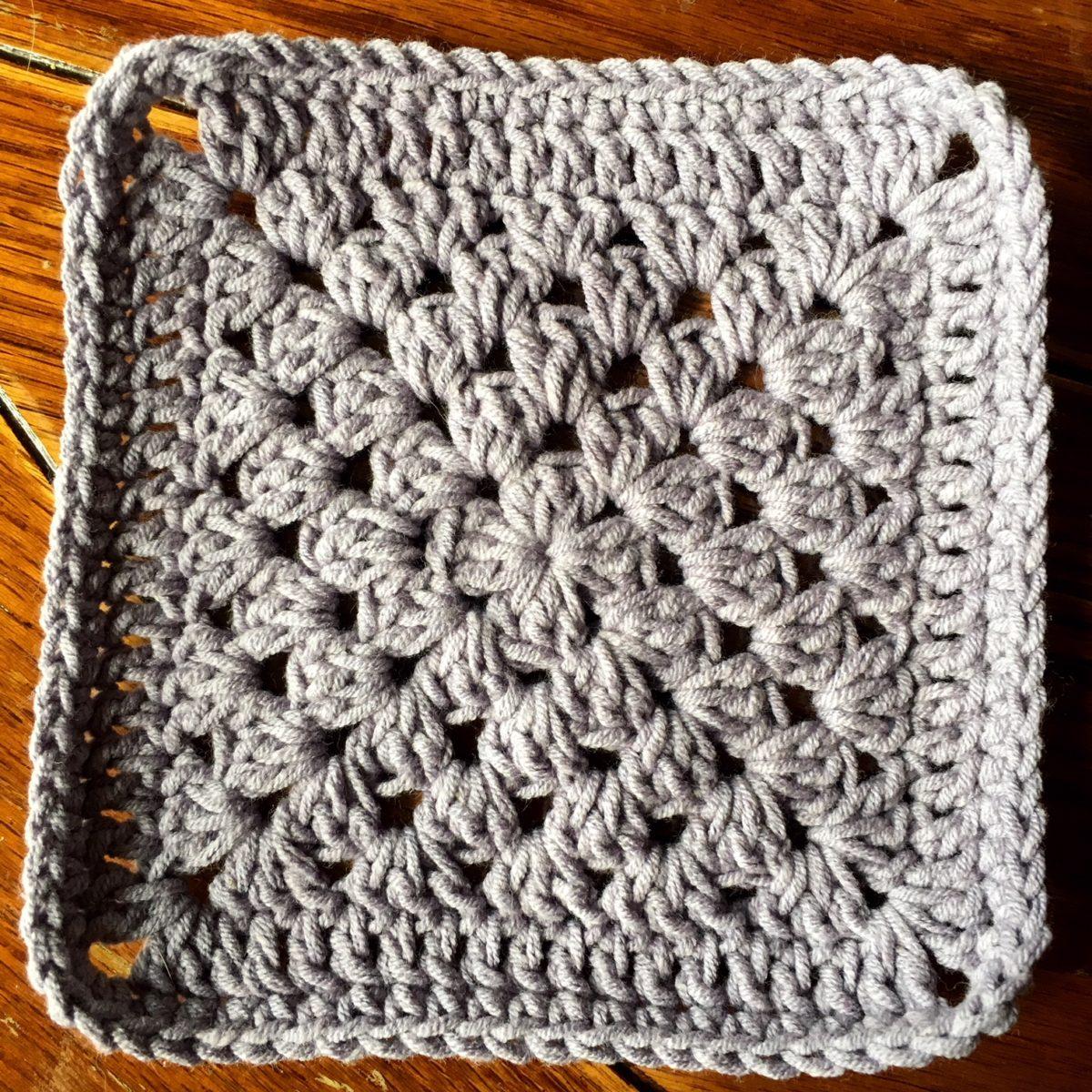 Crochet Motif: Plain Granny Square