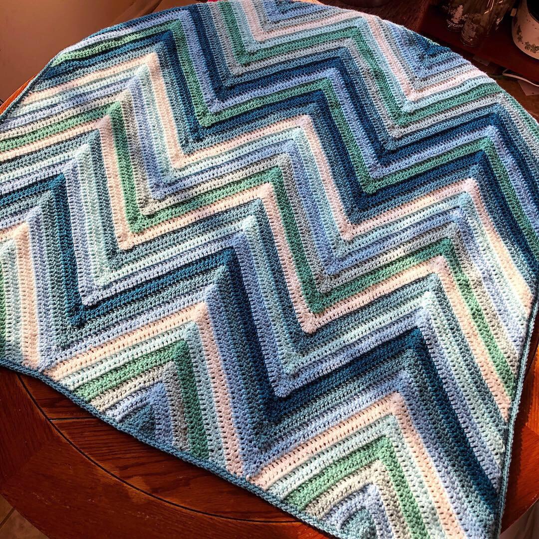 Project Linus Charity Drive – Soulful Sierra Blanket Free Crochet Pattern