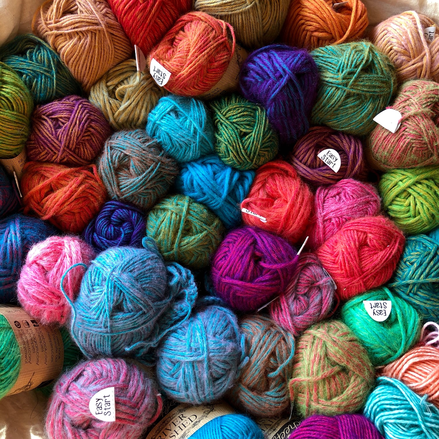 New Yarn, New Me: Creative happiness through painting with fiber