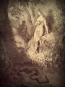 """Etching from Milton's """"Paradise Lost"""""""