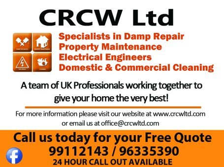 CRCW Ltd – Commercial & Domestic Cleaning
