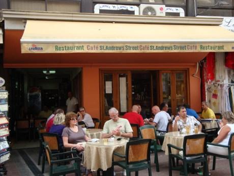 Restaurant Cafe St.Andrews Street