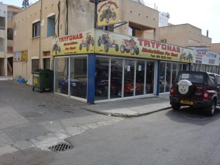 Tryfonas Motorbikes for Rent