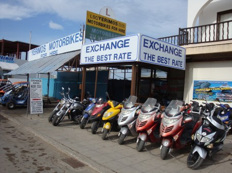 Yerimos Motorbikes For Hire