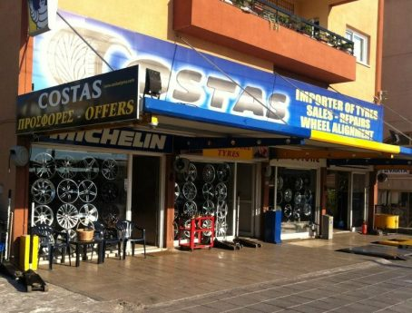 Costas Tyre Service Ltd