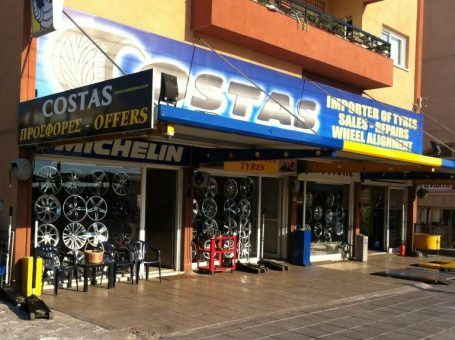 Costas Tyre Service Ltd