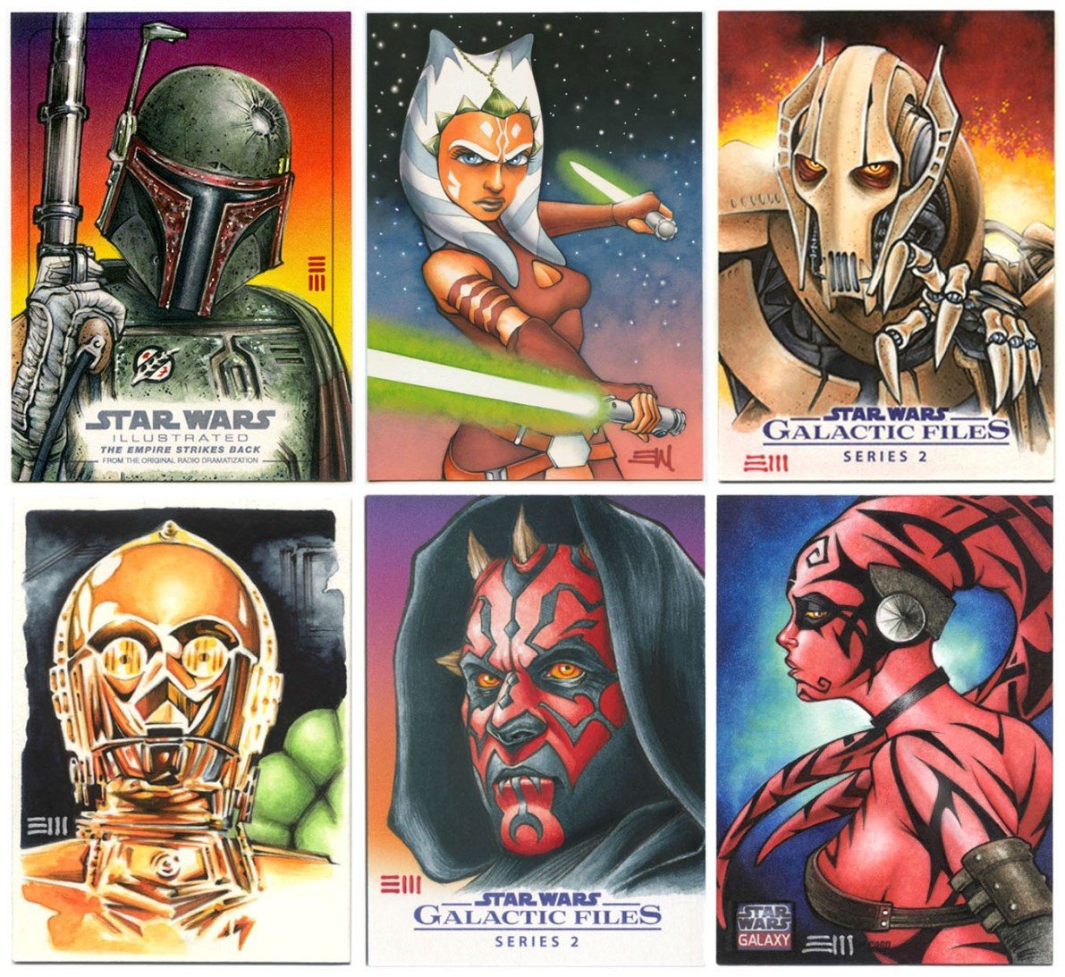 Erik_Maell_Star_Wars_SketchCards