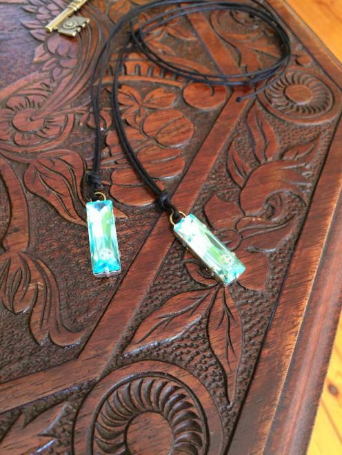 Antiquarian World creation custom jewellery key crystals