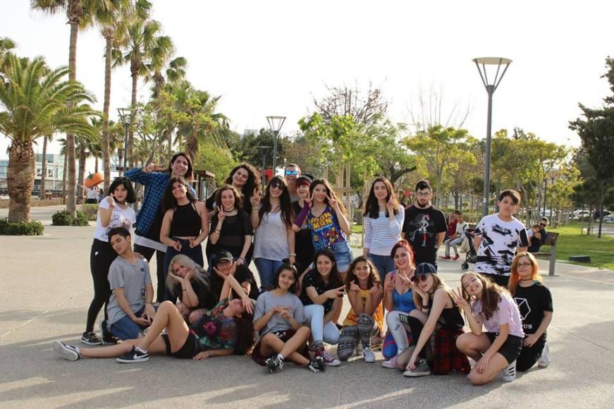 At the Random K-Pop Dance Challenge in Limassol.