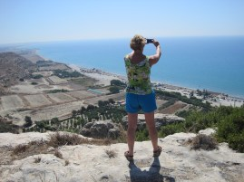 Above Curium Beach on the way to Happy Valley