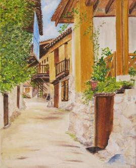 kakopetria-village