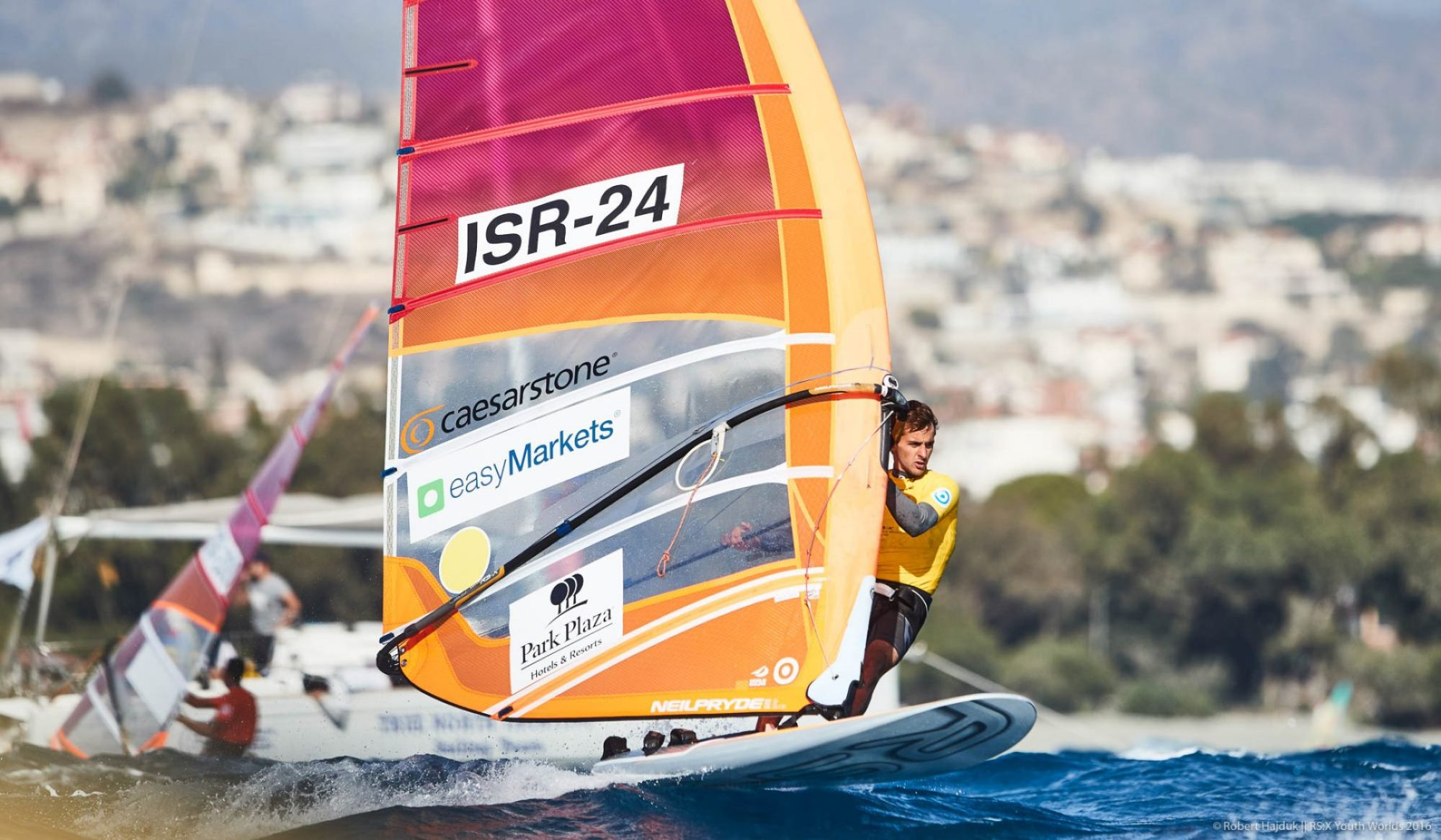 Day 1 at the 2016 RS:X Youth World Windsurfing Championship