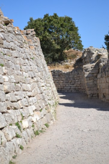 Between the walls of Troy