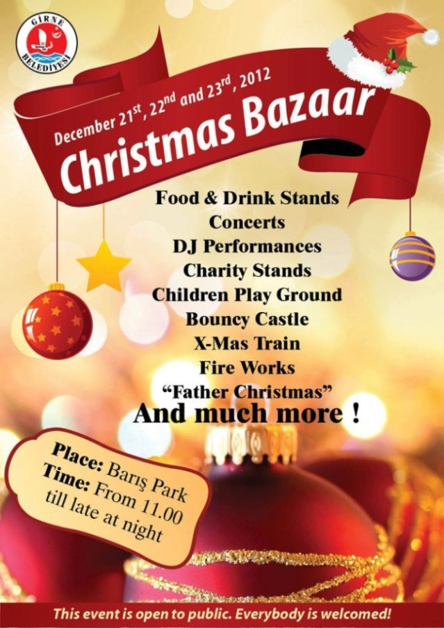 Christmas in Baris Park Girne 2012