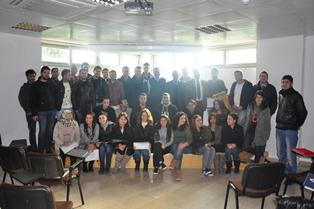 Gau students who participated in the Milli Arşiv  project
