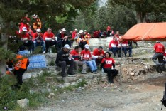 Many Nations came together to care for the TRNC National Flag