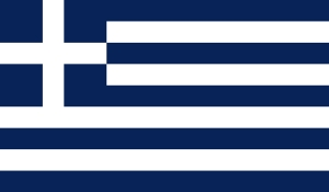 Flag of Greece (1970-1975)
