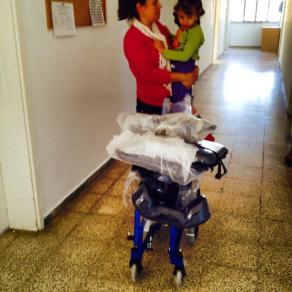 Recent distribution of a childs wheelchair