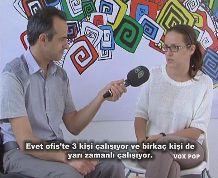 Engin talks to Katerina Shauruk from Cypriada