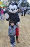 Denzel Karakaya with Mickey Mouse - Christmas comes to Baris Park 2011