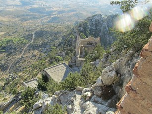 Another view down from Buffavento Castle