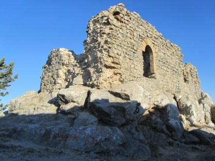 Proud Buffavento Castle still commands the skyline