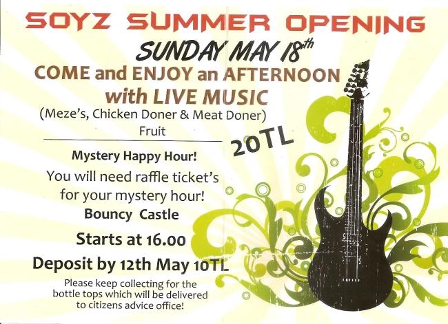 Soyz Summer Opening