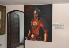 Reception paintings
