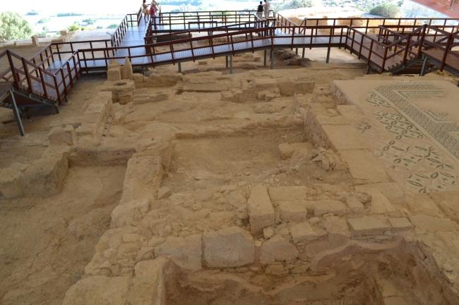 House of Eustolius and the raised walkway.