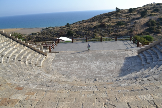 The Amphitheatre - Just look at the size of the floor